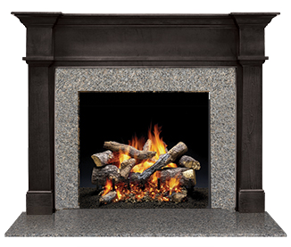 Bellevue Flush Wood Mantel