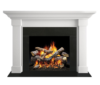 Kenwood Flush Wood Mantel