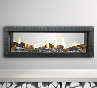 Heat & Glo MEZZO See-Through Gas Fireplace