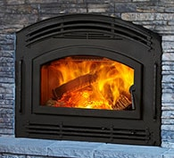 Quadra-Fire Pioneer II Wood Fireplace