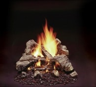 Duzy 2 Vented Gas Log Set