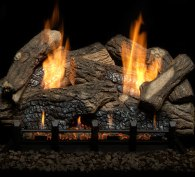 Monessen Hearth Berkley Oak Refractory Vent Free Gas Log Set