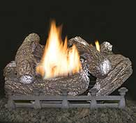 Monessen Hearth Mountain Cedar Vent Free Gas Log Set