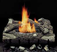 Monessen Hearth Mountain Oak Vent Free Gas Log Set