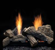 Monessen Hearth Natural Blaze See-Thru Vent Free Gas Log Set