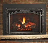 Heat & Glo Escape FireBrick Gas Fireplace Insert