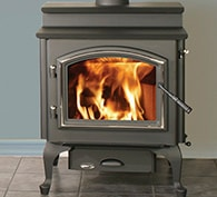 Quadra-Fire 4300 Step Top Wood Stove