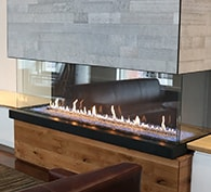 Heat & Glo Foundation Bay Gas Fireplaces