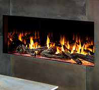 Heat & Glo Foundation Single-Sided Gas Fireplaces
