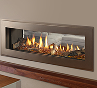 Heatilator Crave See-Through Series Gas Fireplace