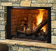 Heatilator Legacy TrueView Gas Fireplace
