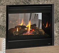 Heatilator See-Through Gas Fireplace