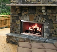 Outdoor Lifestyles Montana Wood Fireplace