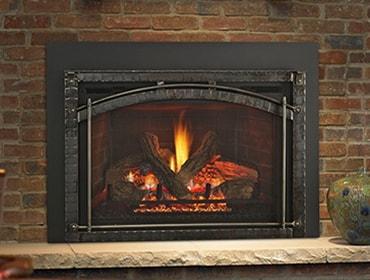 Heat Glo Escape Firebrick Gas Fireplace Insert