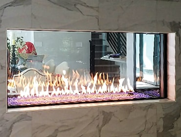 Heat Amp Glo Foundation See Through Gas Fireplaces