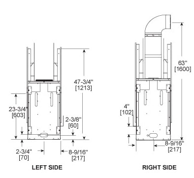 fireplaces.com Gas Fireplace Schematic And Diagram on