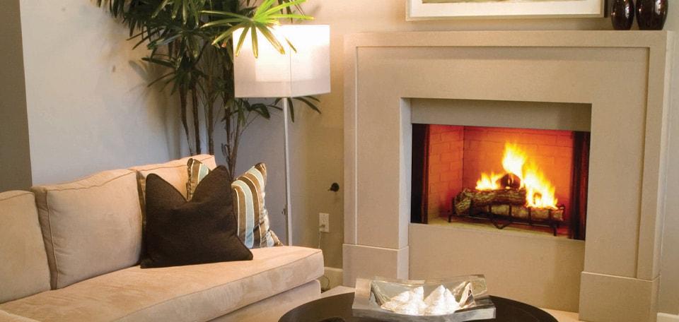 Heat & Glo Exclaim Wood Fireplace