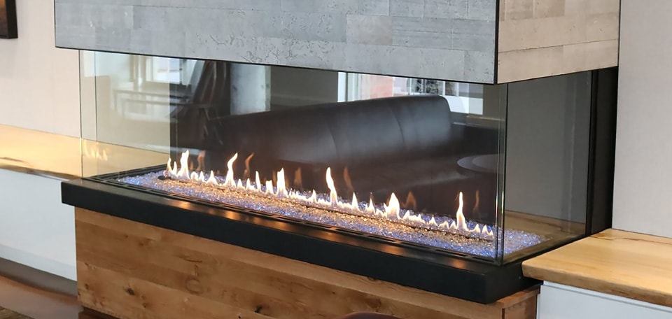 Heat & Glo Foundation Bay Gas Fireplaces