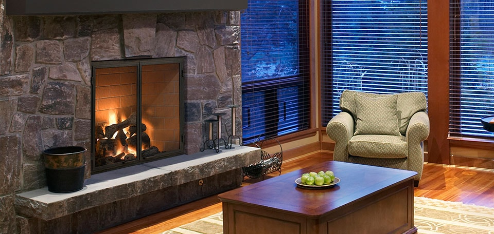 Heat & Glo Rutherford Wood Fireplace