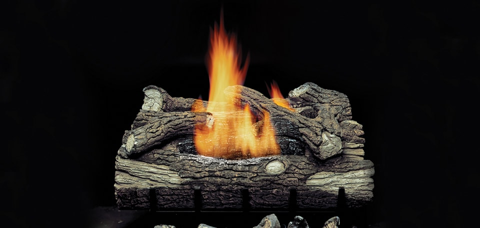 Monessen Hearth Mountain Oak Vent Free Gas Log Set