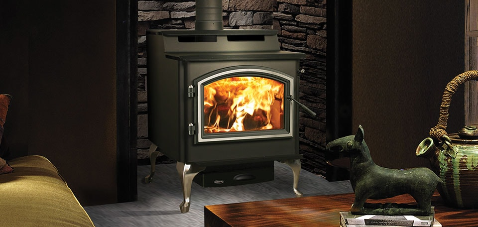 Quadra-Fire 5700 Step Top Wood Stove