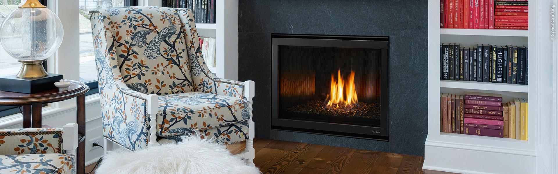 Heat & Glo 8000 Modern Gas Fireplace