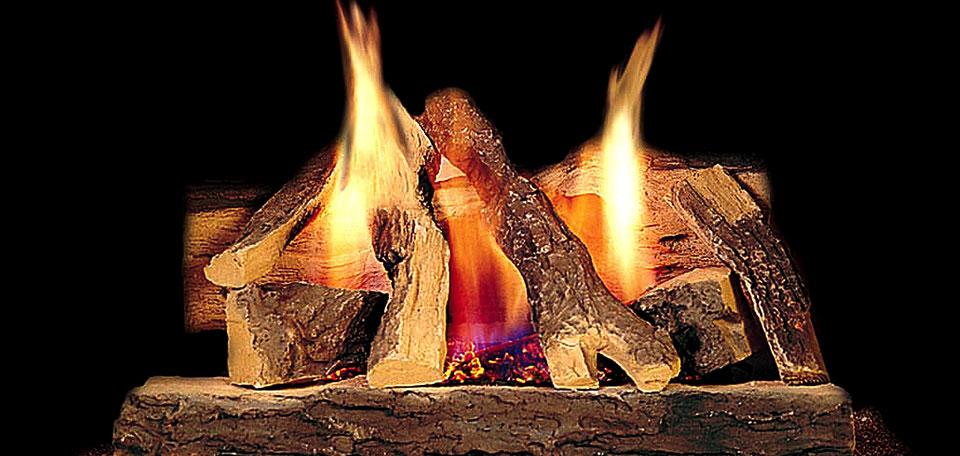 Campfire Log Set