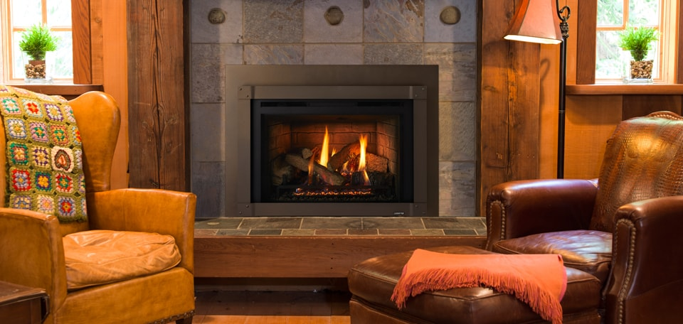 Quadra-Fire QFI FB Series Gas Fireplace Insert
