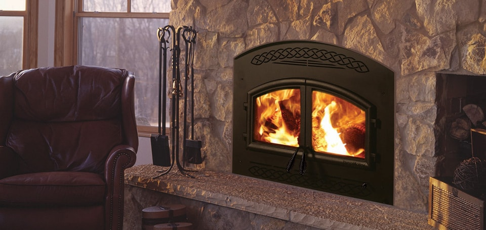 Constitution Wood Fireplace