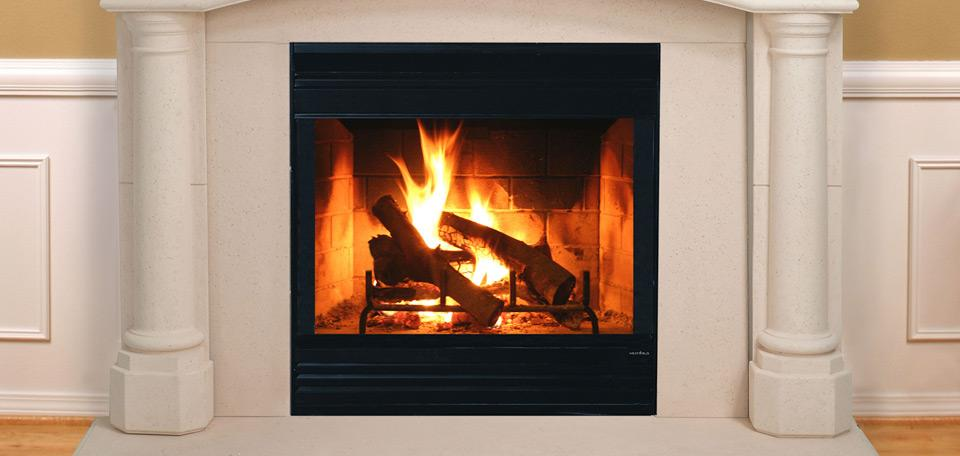 Energy Master Wood Fireplace