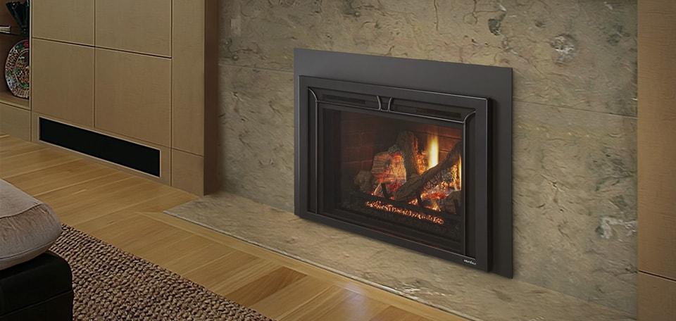 Heat & Glo Escape FireBrick Gas Fireplace Insert