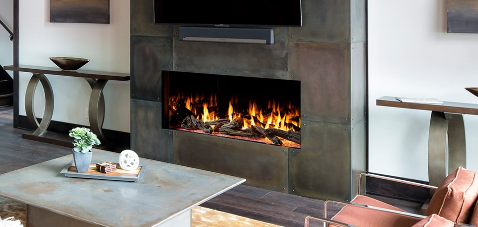 Heat & Glo Foundation Single-Sided Gas Fireplaces