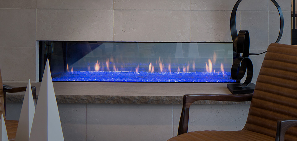 PRIMO See-Through Direct Vent Gas Fireplace Series