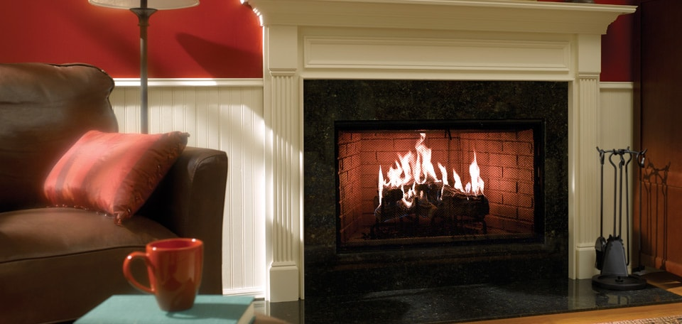 Heat & Glo Royal Hearth Wood Fireplace