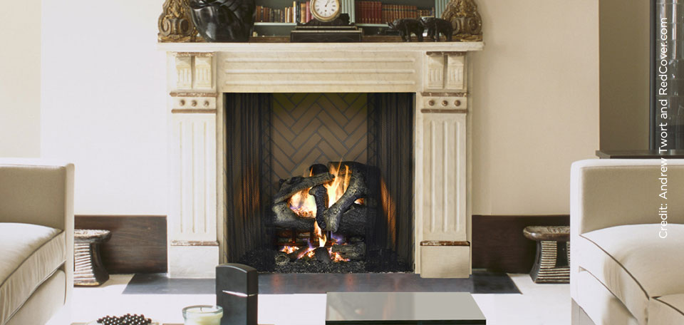 Rutherford Wood Fireplace
