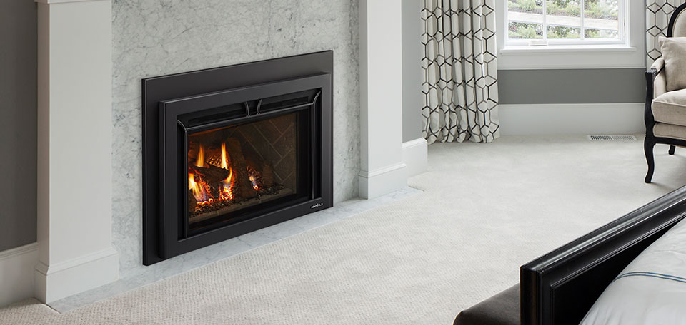 Supreme 25 gas fireplace insert
