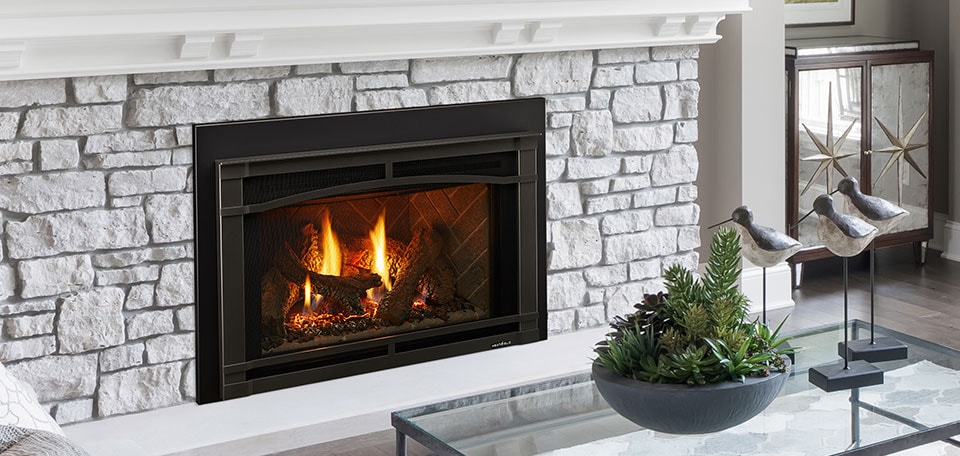Supreme 35 gas fireplace insert