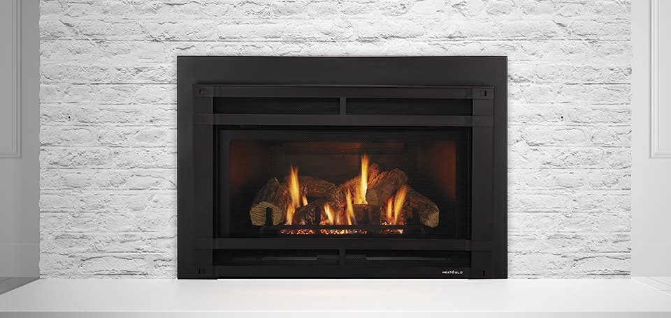 The Fireplace Showcase - Gas Fireplace Insert, Seekonk, MA
