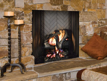 Majestic Ashland Wood-Burning Fireplace