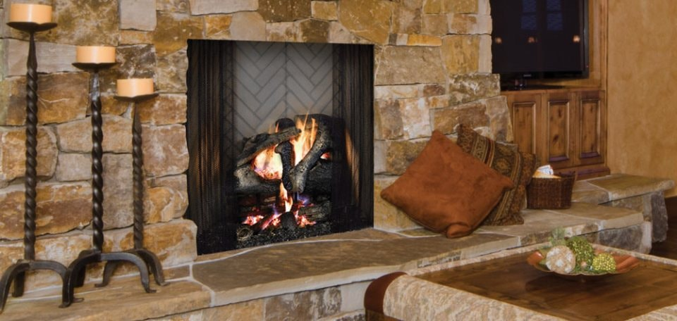Ashland Wood-Burning Fireplace
