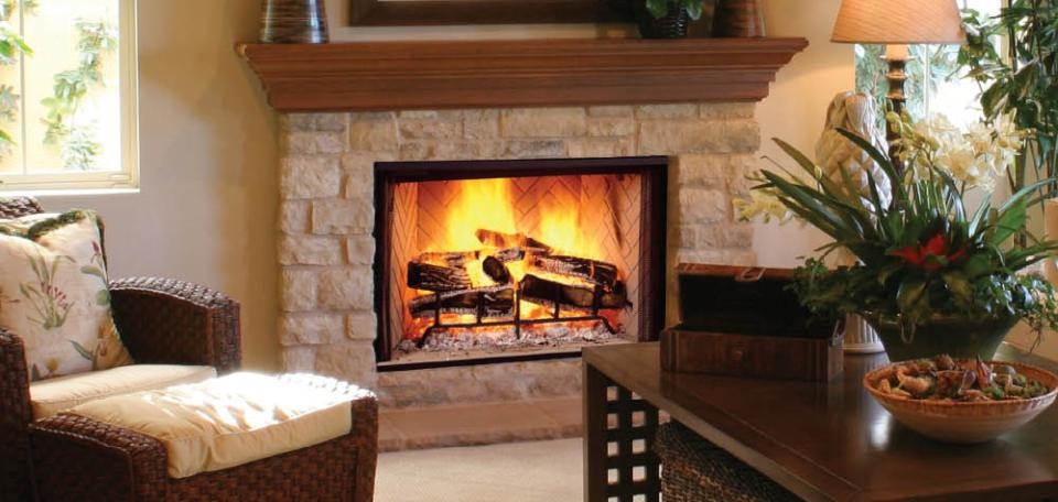 Biltmore Wood-Burning Fireplace