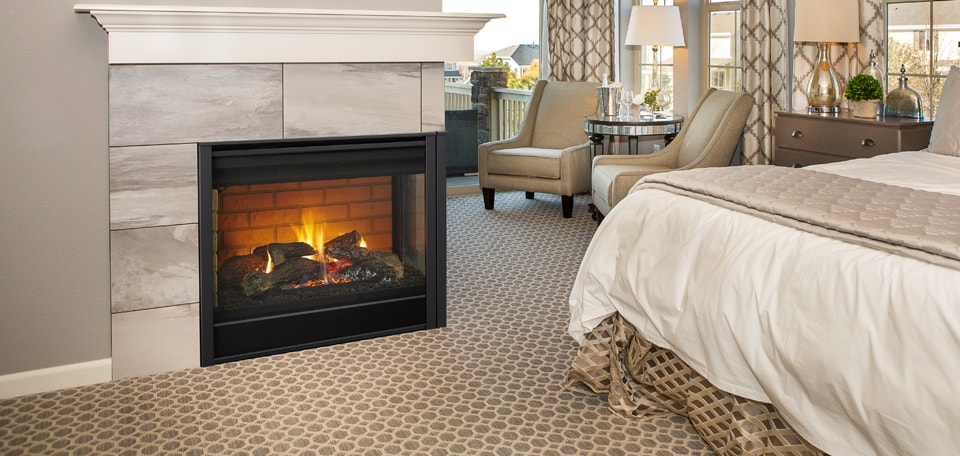 Corner Series Direct Vent Gas Fireplace