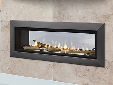 Majestic Echelon II See-Through Direct Vent Gas Fireplace