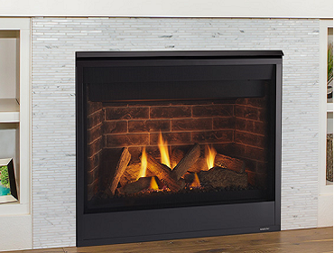 Majestic Quartz Series Direct Vent Gas Fireplace