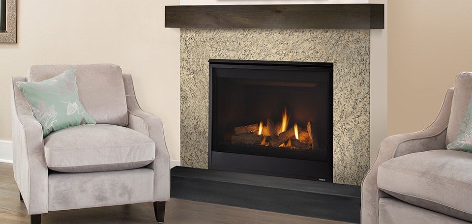 Quartz Direct Vent Gas Fireplace