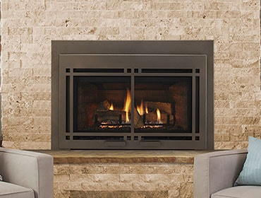Majestic Ruby Series Direct Vent Gas Fireplace Insert - 2018 Model Close Out – While Supplies Last