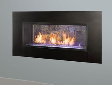 Monessen Hearth Artisan See-Through Vent Free Gas Fireplace