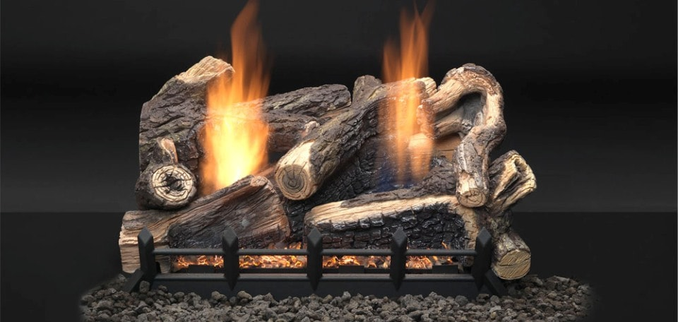 Kentucky Wildwood Vent Free Gas Log Set