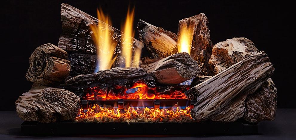 Monessen Hearth Moxie Vent Free Gas Log Set