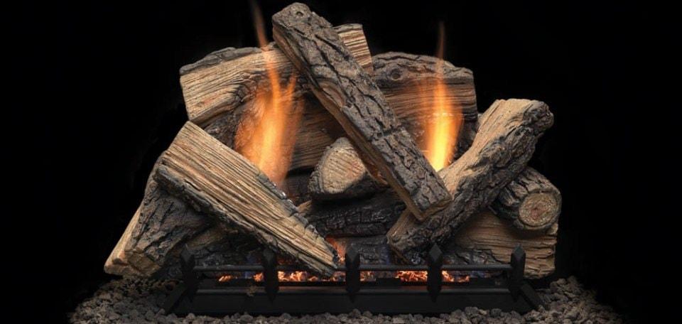 Monessen Hearth Stony Creek Vent Free Gas Log Set
